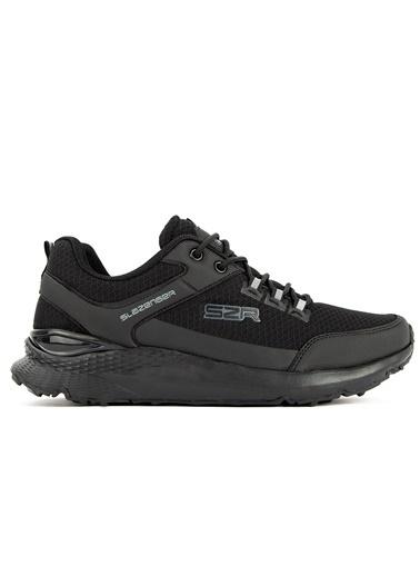 Slazenger Slazenger Zuber Sneaker Erkek Ayakkabı  Siyah